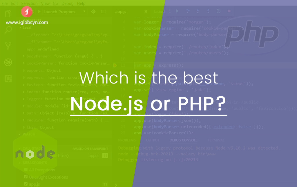 Node.js vs. PHP: Which is best for your next project?